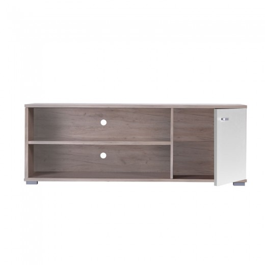 ΕΠΙΠΛΟ TV AMOS(GREY OAK / WHITE)