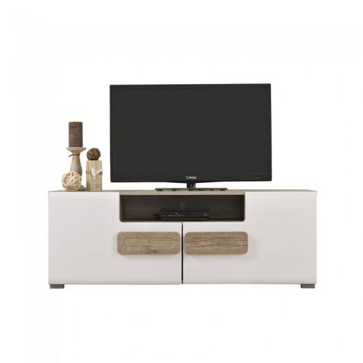 ΕΠΙΠΛΟ TV BERT (GREY OAK / WHITE)